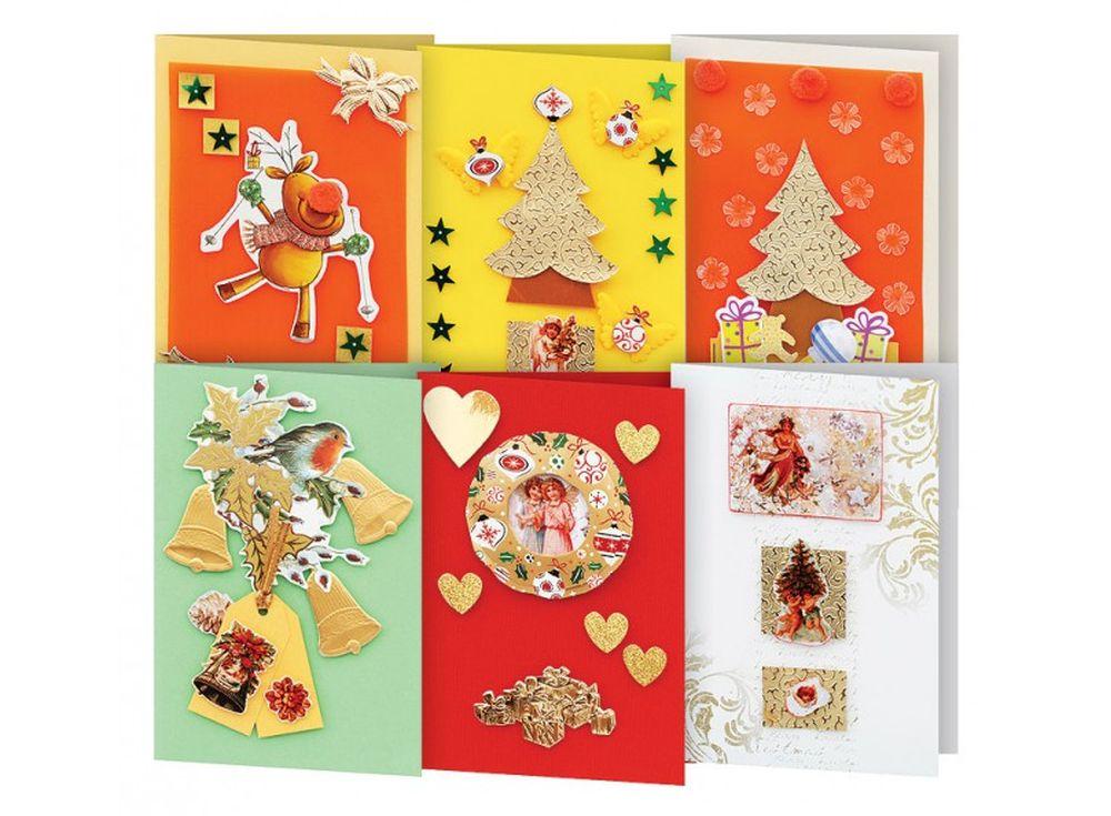 Купить новогодние открытки своими руками