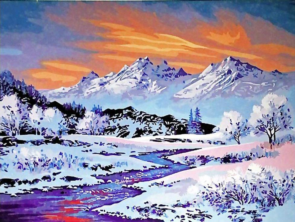 Snowbound paint