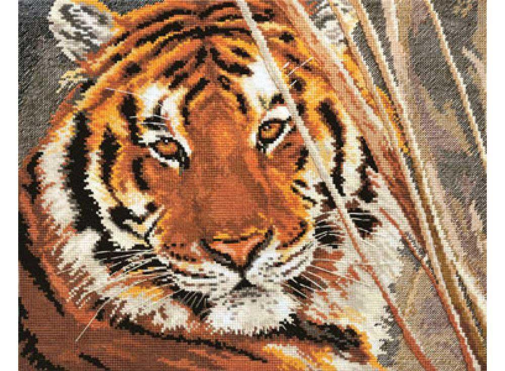 Значение тигра в вышивке 701