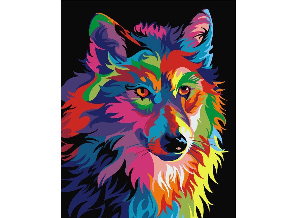 Как сделать цветной арт из