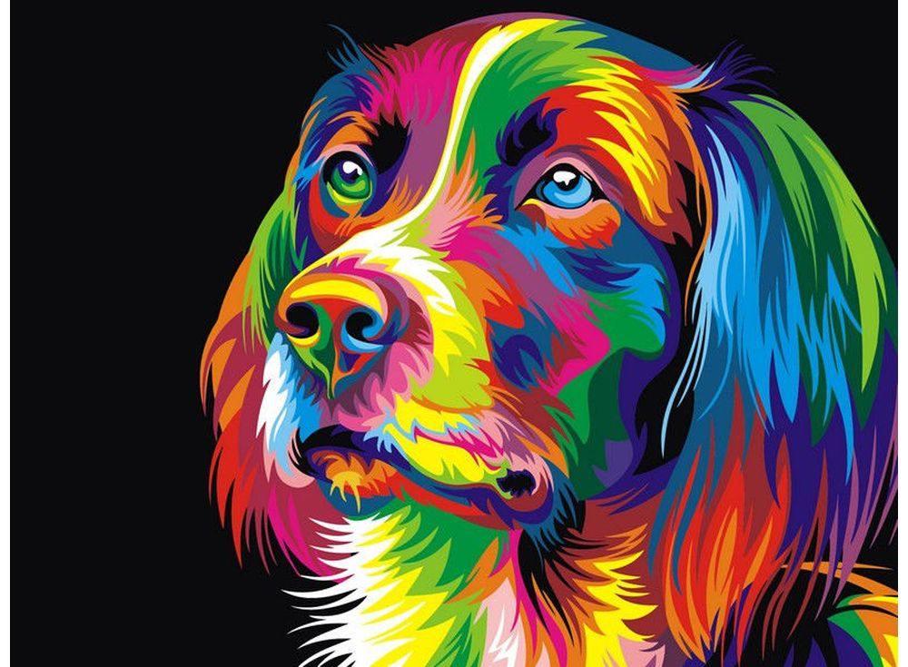 Рисовать разноцветной