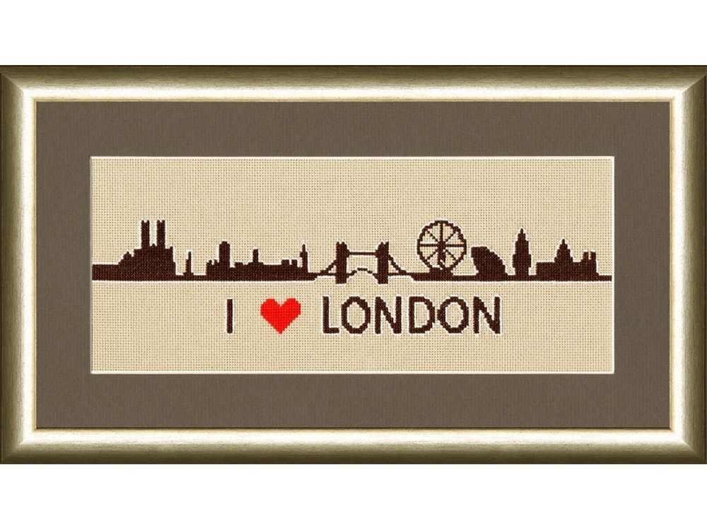 Лондон схема для вышивки 39