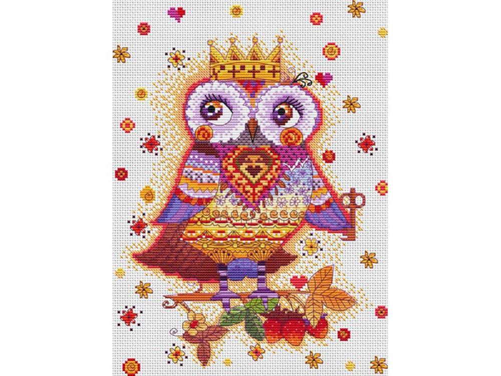 Картинка совы для вышивки