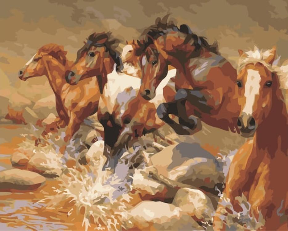 Раскраски Лошади - Картинки-раскраски для детей и…