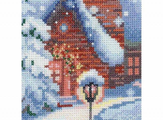 Риолис вышивка перед рождеством 69
