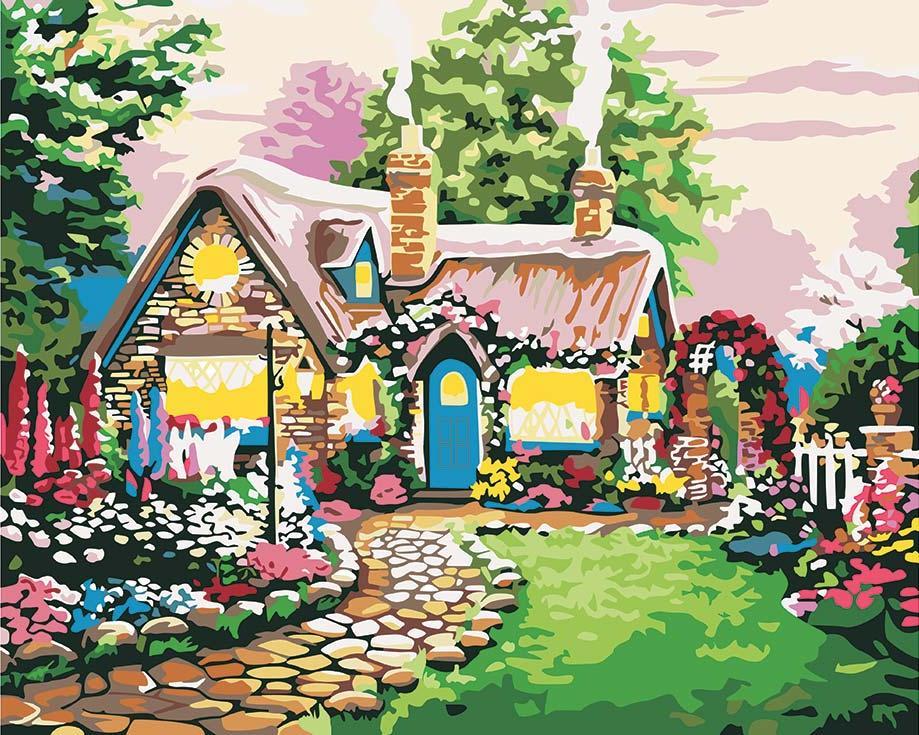 Сказочные картинки возле домашних