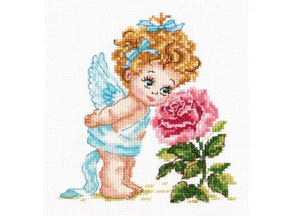 Вышивка ангелов картинки