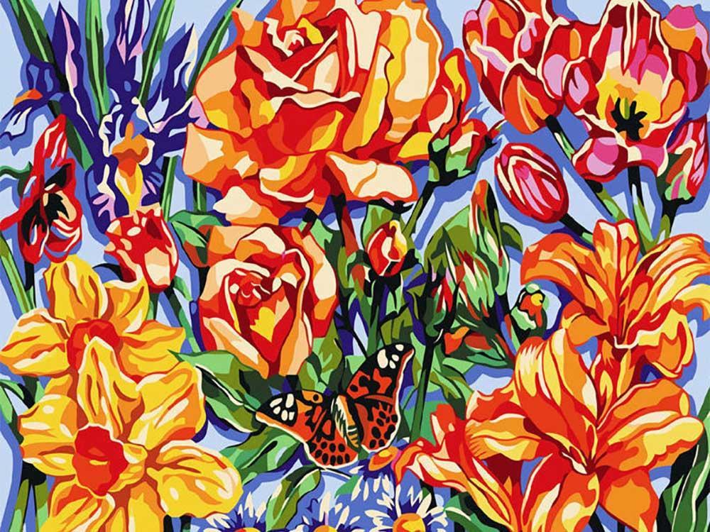 картинки полотно с цветами говорят