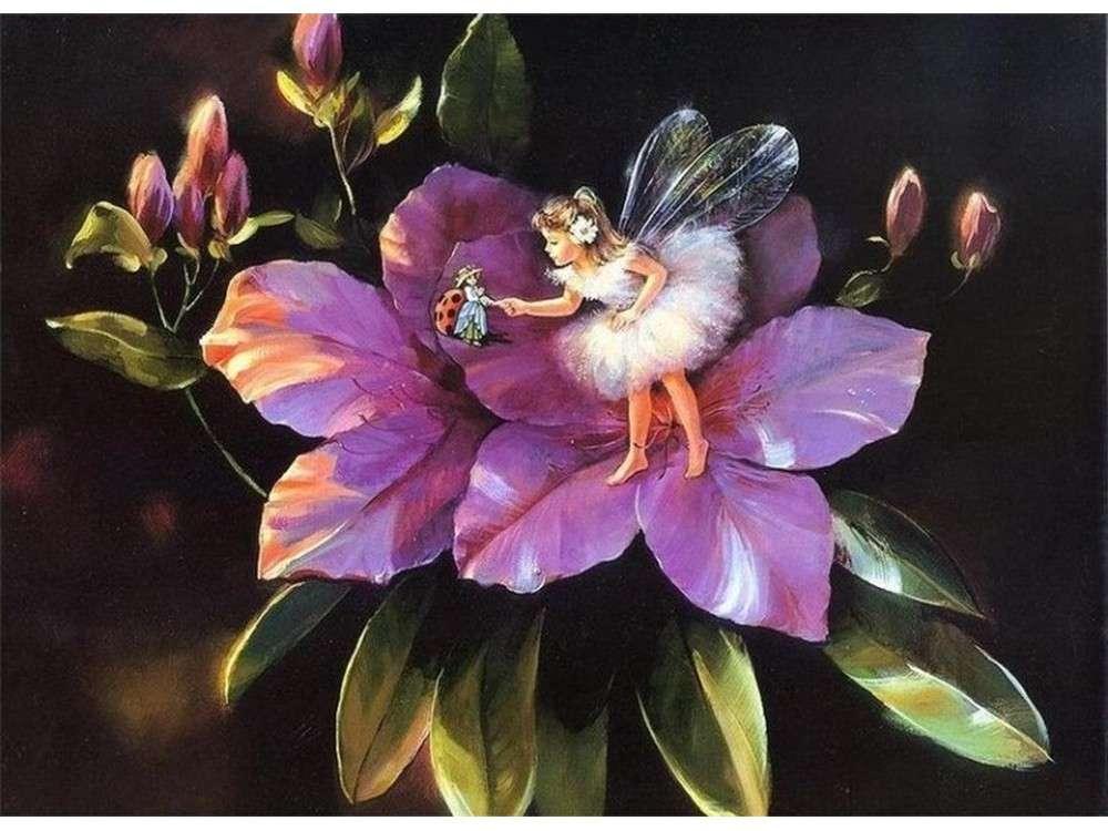 Волшебная открытка цветы, открытка доброе