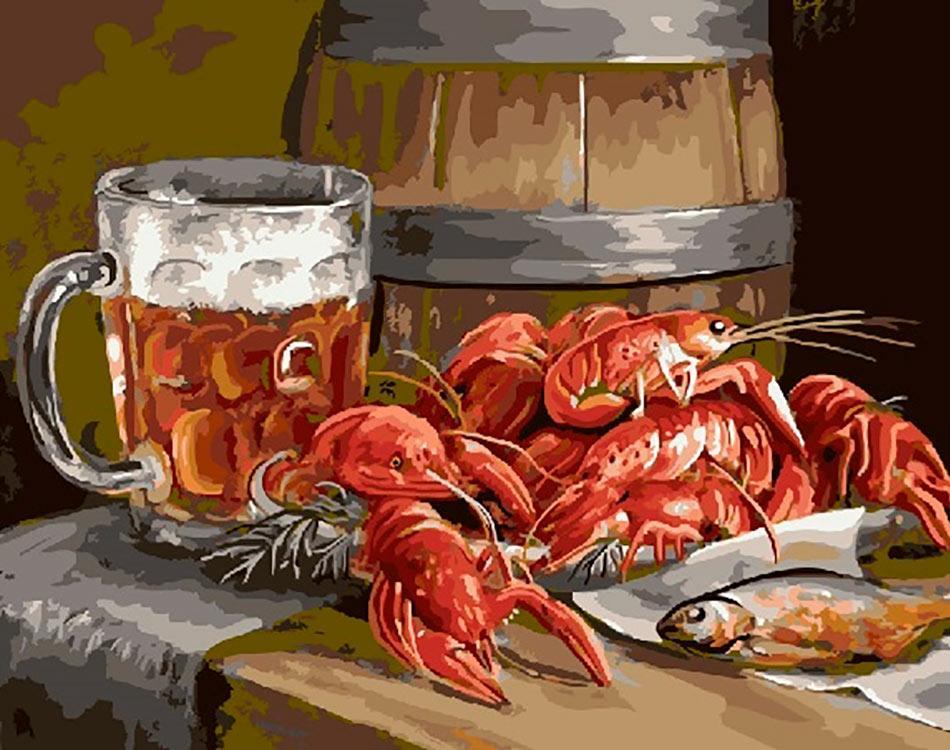 Картинки баня пиво раки