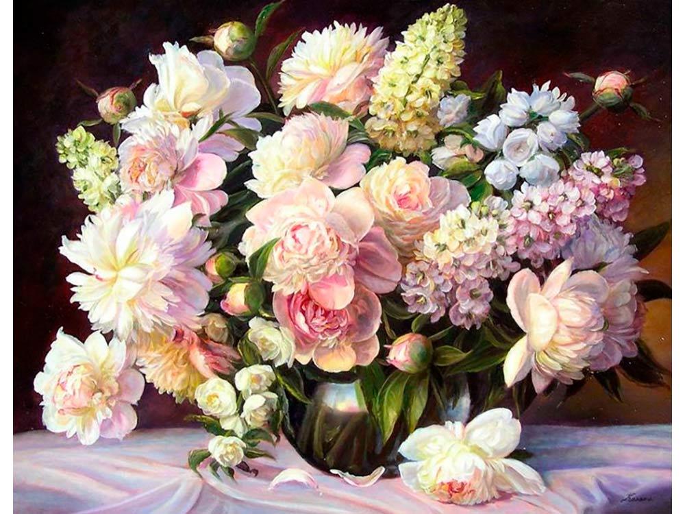 нем фото картин с цветами весны