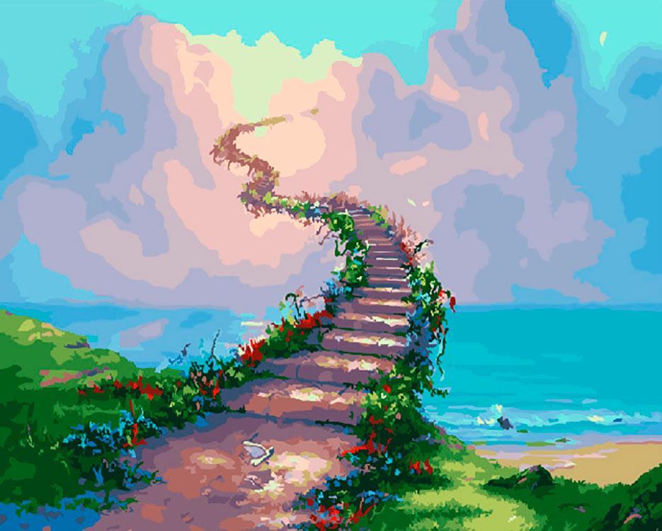 гифка лестница в небеса