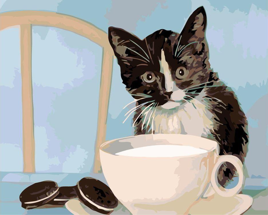 Открытки коты доброе утро
