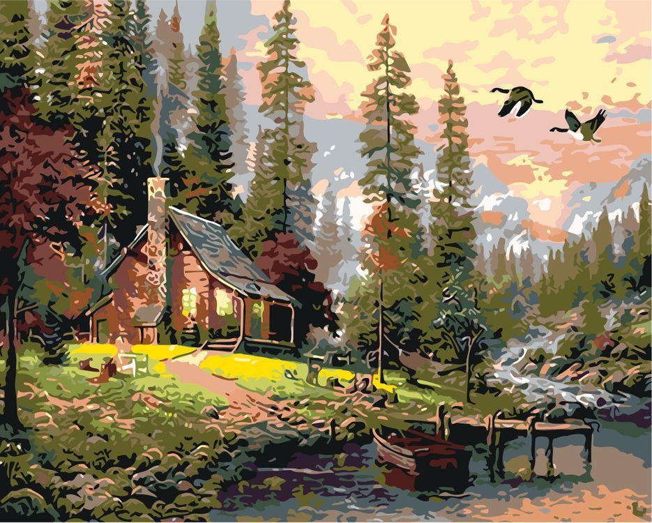 Картинки сказочный домик в лесу, радио картинки картинка