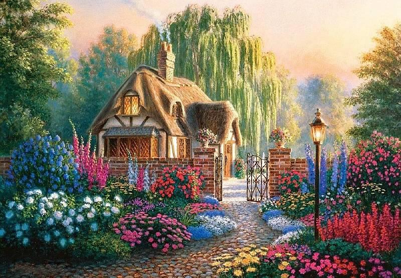 могилах картинка красивый домик красочный предполагает, что погиб