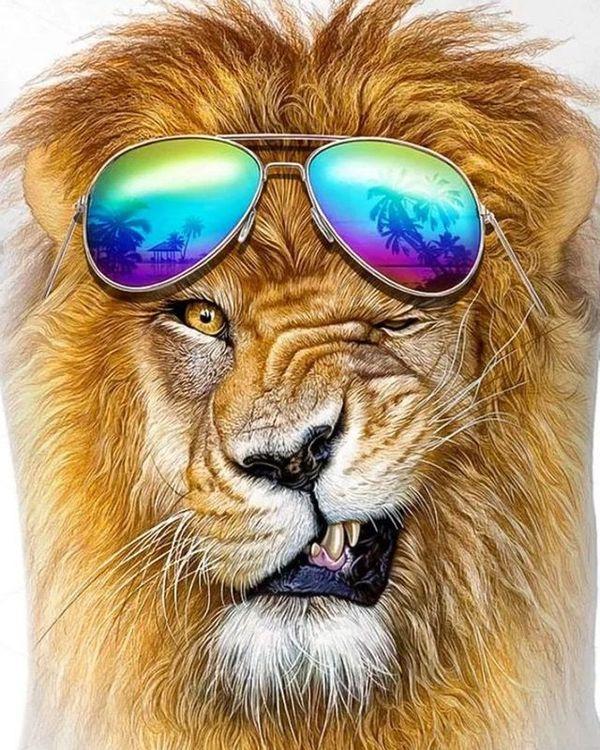 для рисунки лев крутые ванесса